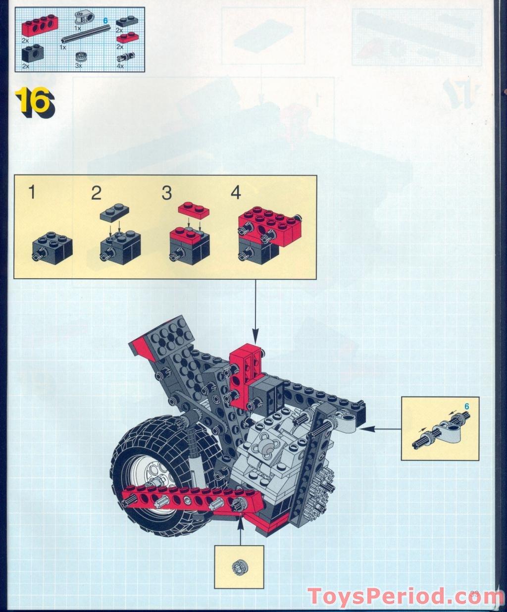 lego technic dune buggy instructions