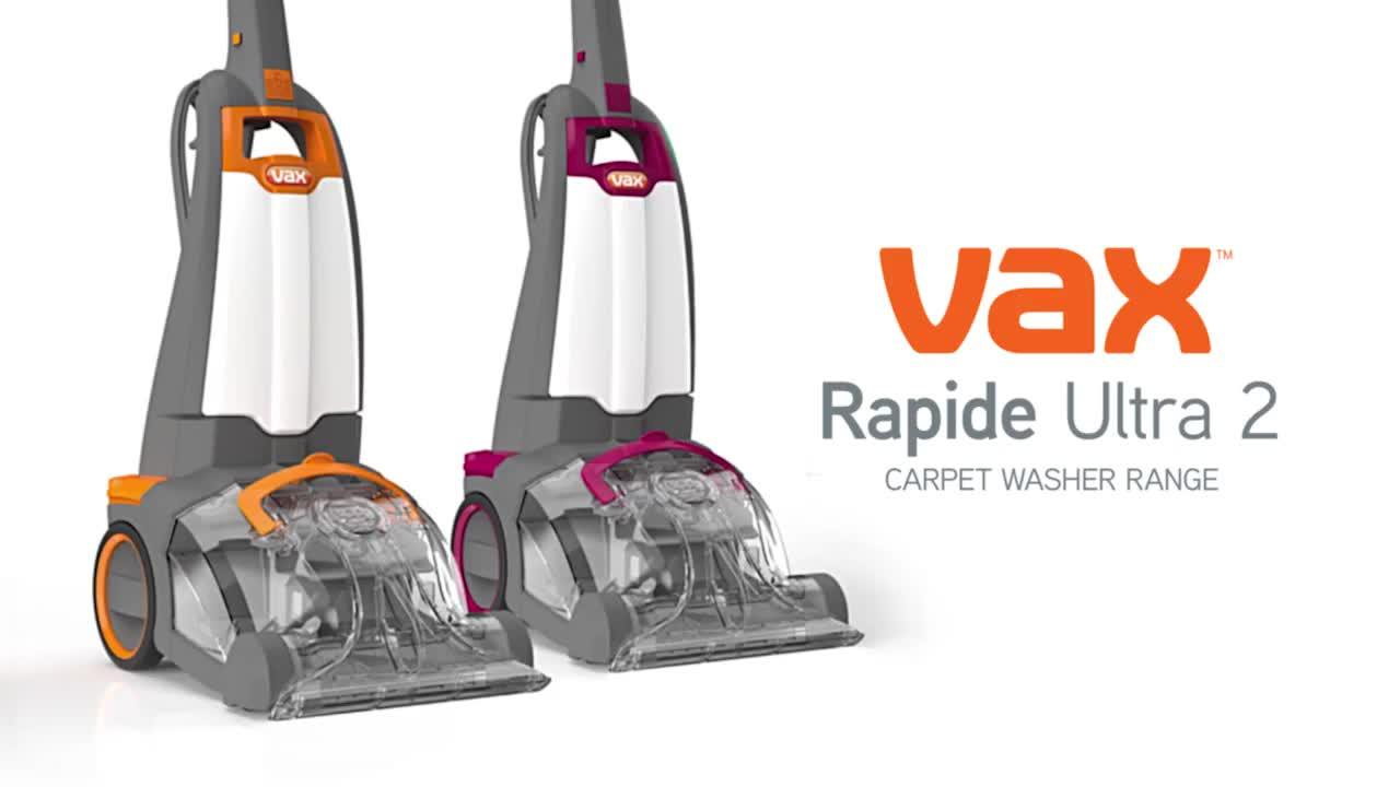 vax rapide ultra instructions