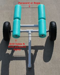 glide kayak trolley instructions