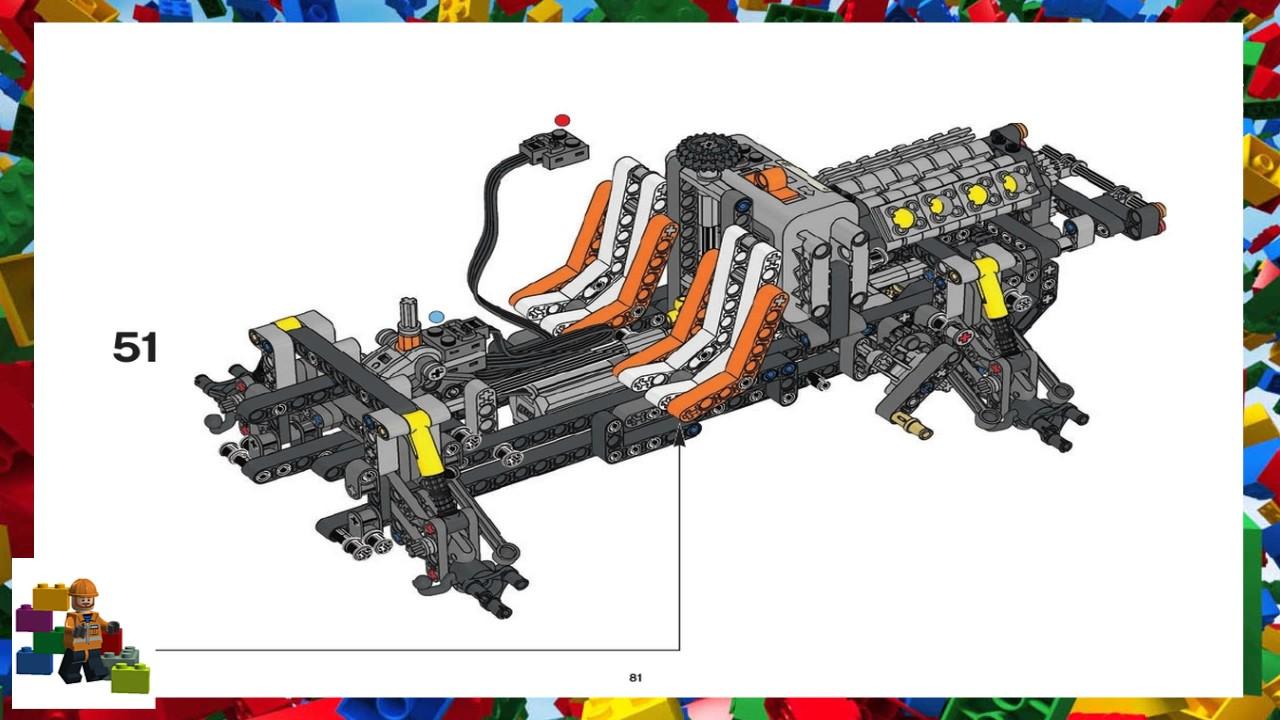 lego technic 8297 instructions