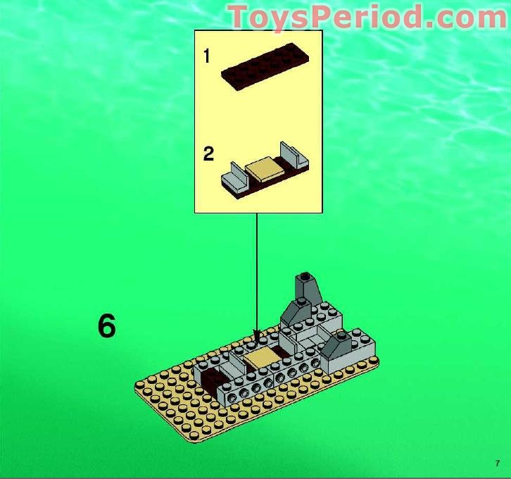 lego aqua raiders instructions