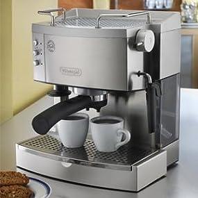 delonghi espresso maker instructions