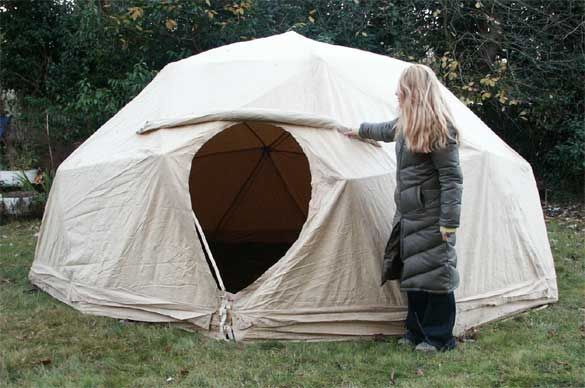 rough it 8 person cabin dome tent instructions