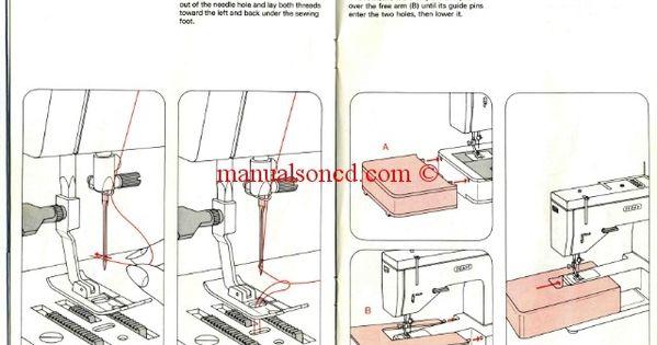 janome bobbin threading instructions