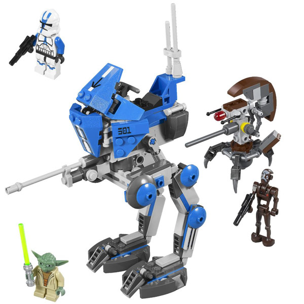 lego star wars at rt walker instructions