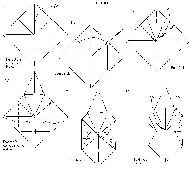 3d origami step by step instructions