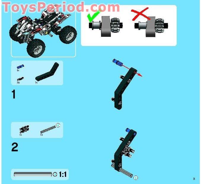 lego quad bike instructions 10696