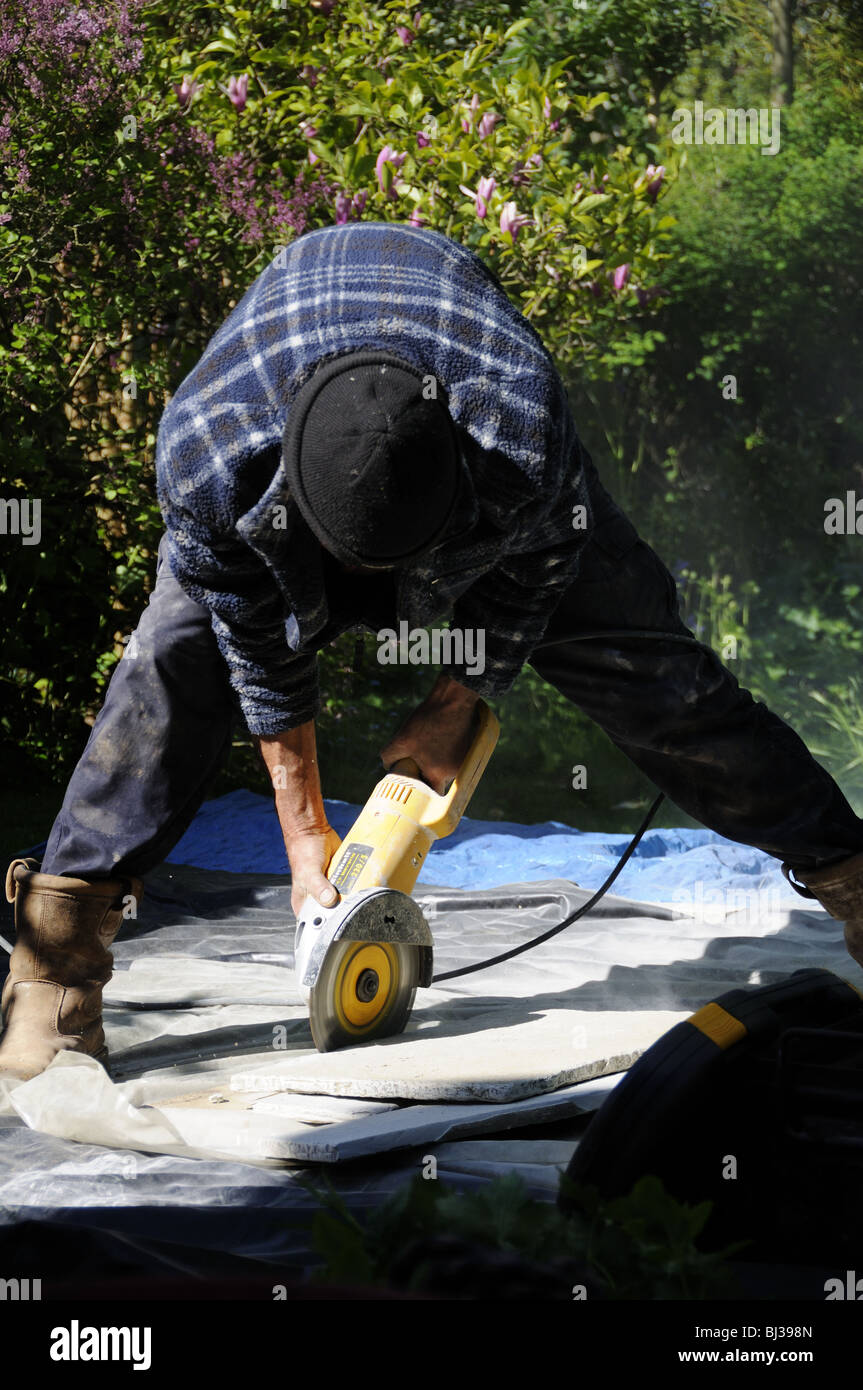 work zone angle grinder instructions