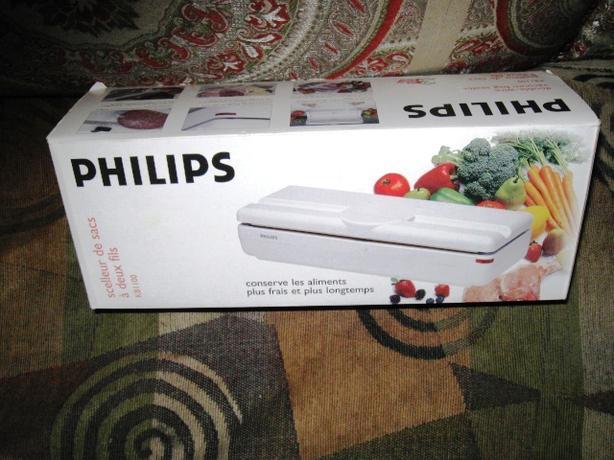 philips vacuum bag sealer instructions