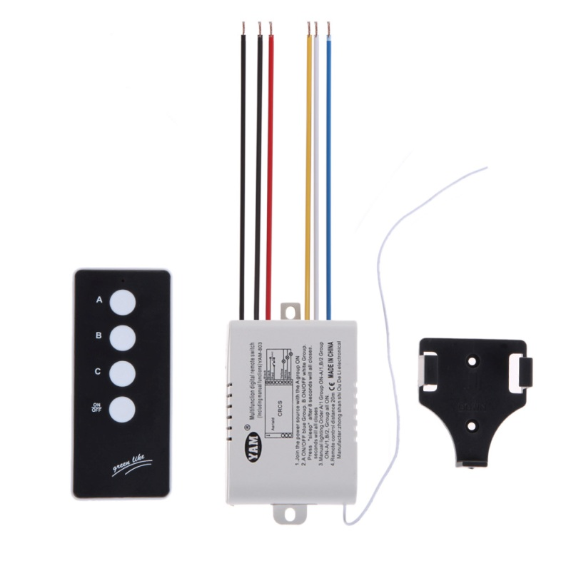 digital remote control switch instructions