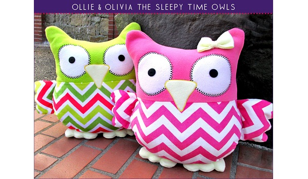 ollie the owl instructions