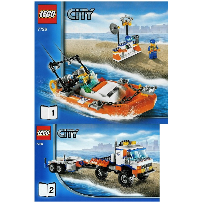 lego speed boat instructions