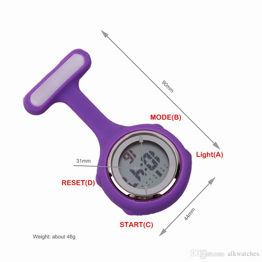 digital nurse fob watch instructions