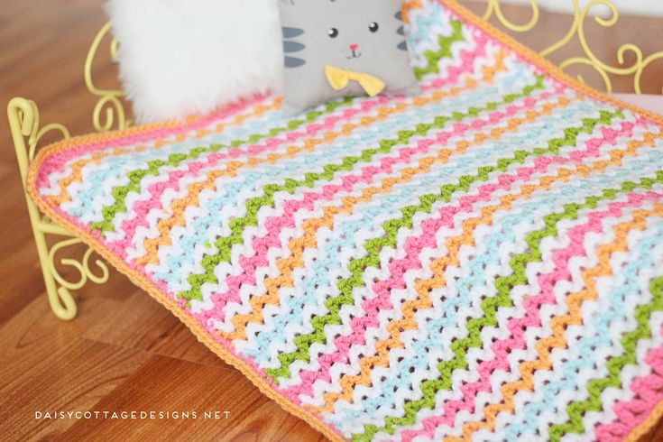 crochet blanket stitch instructions