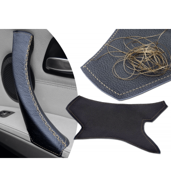 lace on steering wheel cover instructions