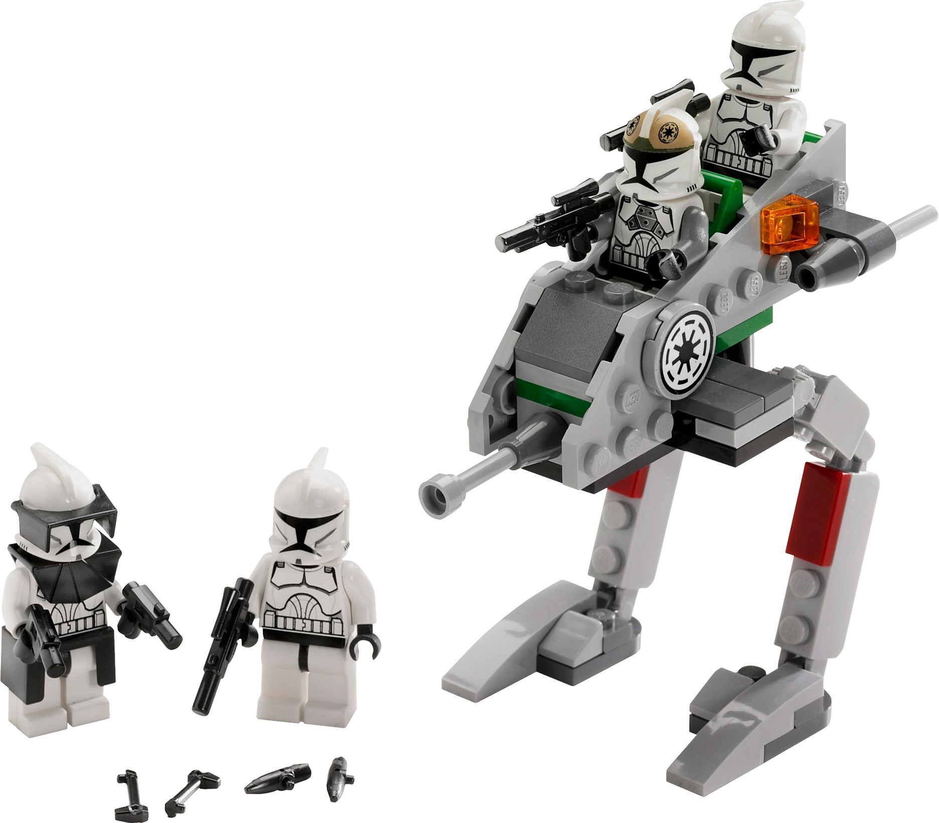 lego star wars clone walker battle pack instructions