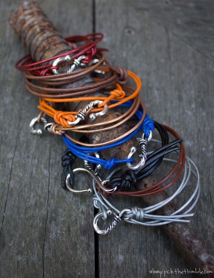 adjustable cord bracelet instructions