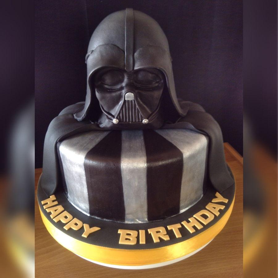 darth vader cake instructions