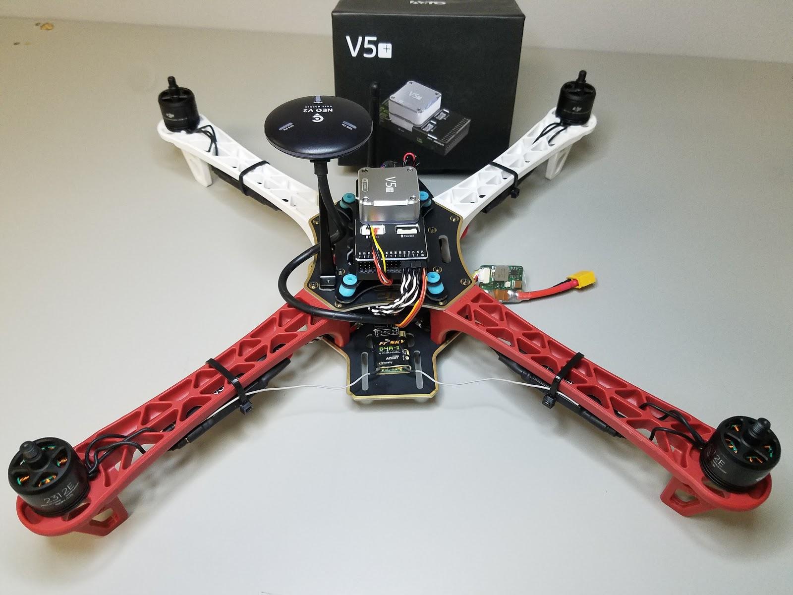 dji f450 assembly instructions