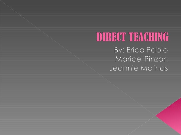 what is direct instruction approach