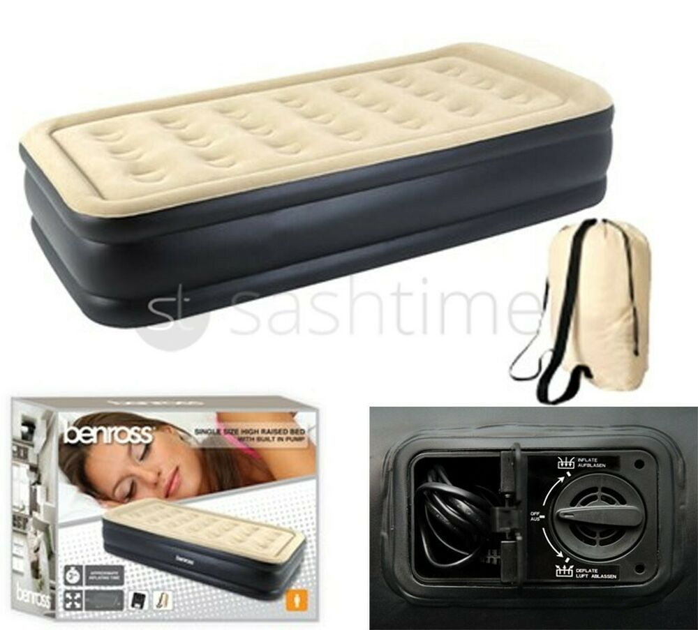 airbed with built in pump instructions