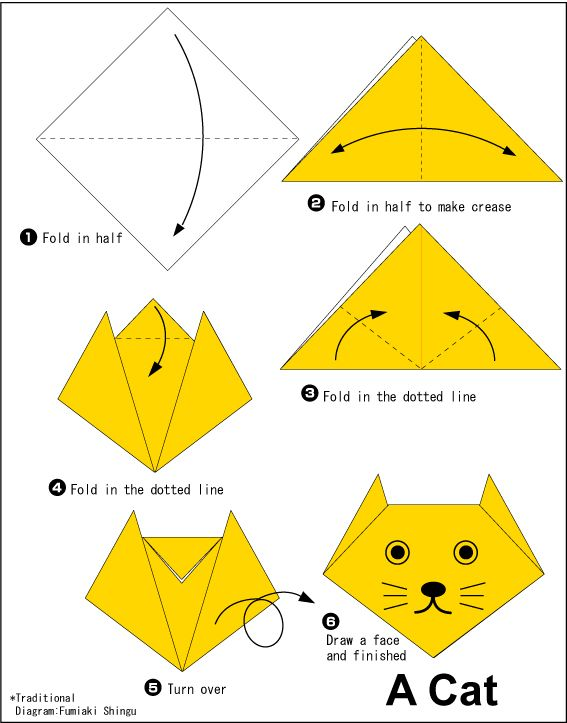 free printable origami instructions