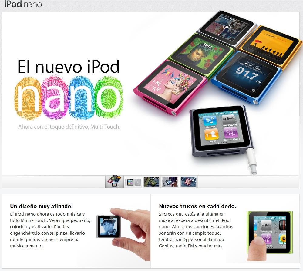 ipod nano 8gb instructions