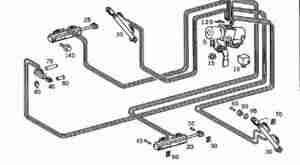 mercedes slk 230 320 hydraulic roof repair instructions